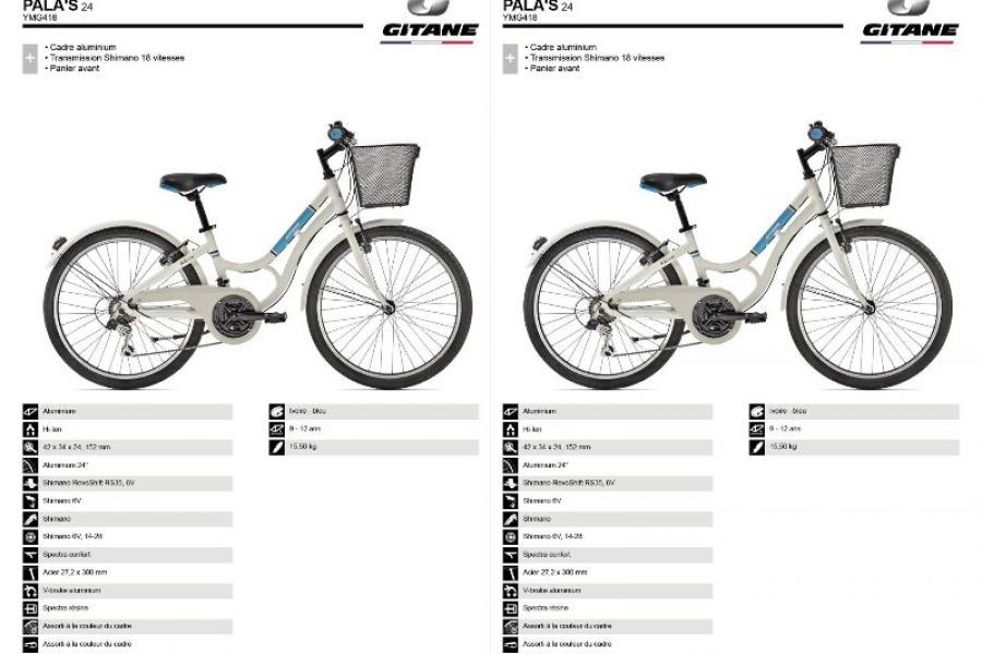 Vélo Gitane 24'' Pala's